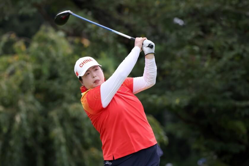 Shanshan Feng Golf - Olympics: Day 15