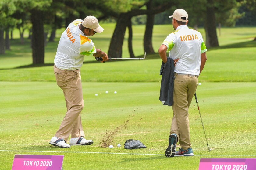 Team India Golf - Olympics: Day 6