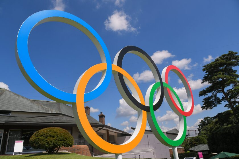 Olympic Rings at Kasumigaseki Country Club
