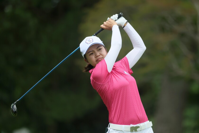 Wei-Ling Hsu Golf - Olympics: Day 12