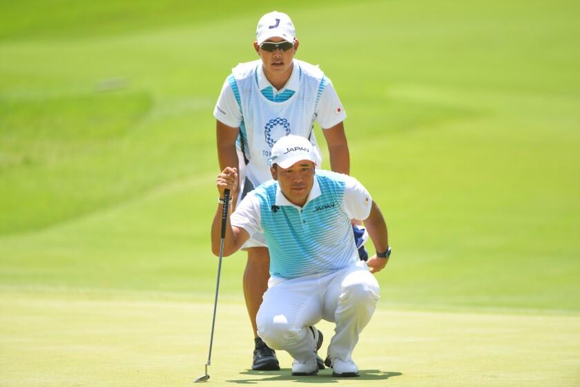 Hideki Matsuyama Golf - Olympics: Day 12