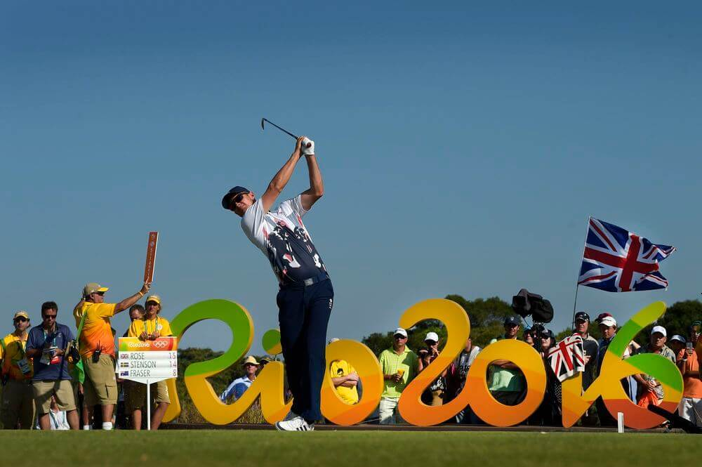 Olympic Games Rio 2016 - Final Round -  Justin Rose, Team GB