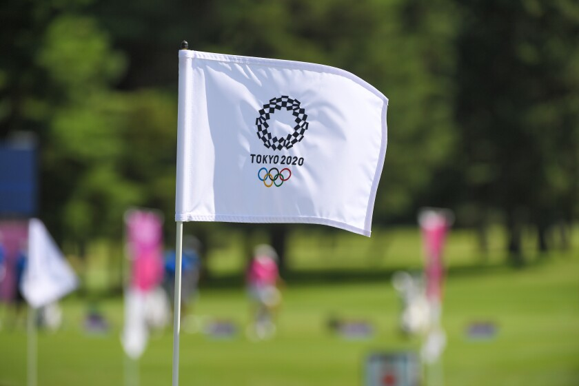 Golf - Olympics: Day 5