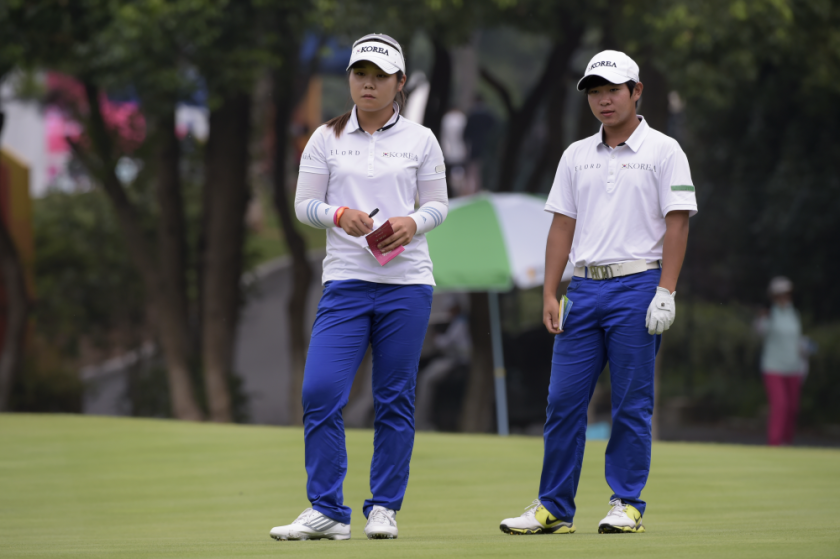 Youth Olympic Games - Nanjing 2014 - Soyoung LEE and Eun Ho YOUM, Team KOR