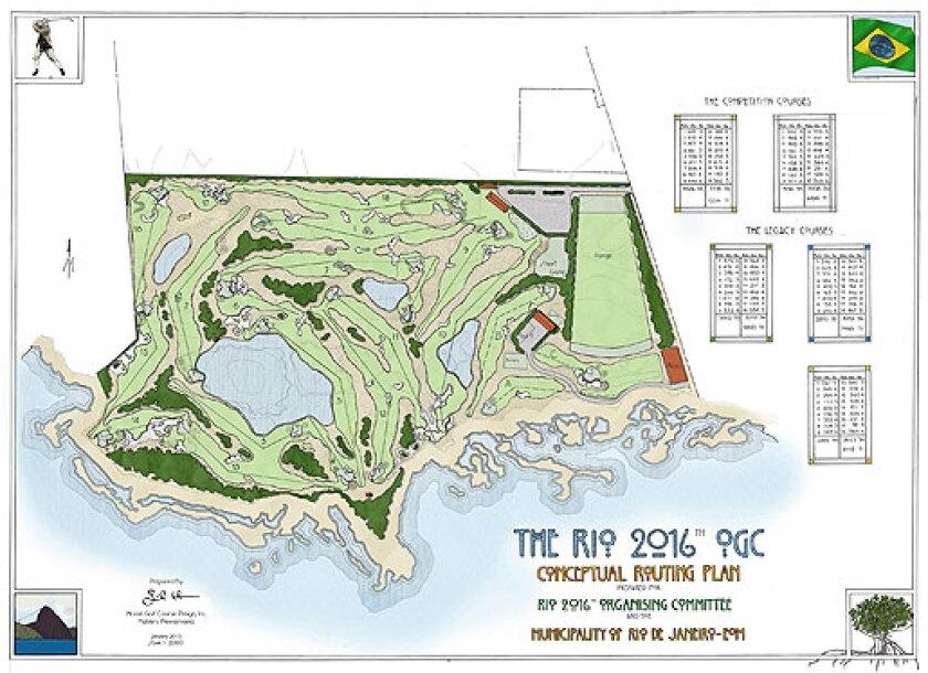 Rio2016 Course Plan