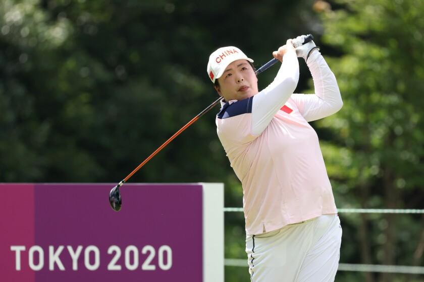 Shanshan Feng Golf - Olympics: Day 12