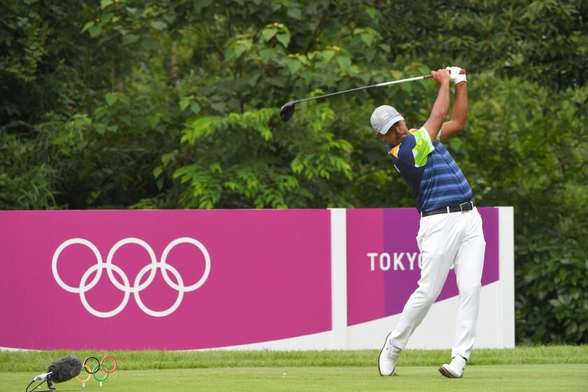 Anriban Lahiri Golf - Olympics: Day 9