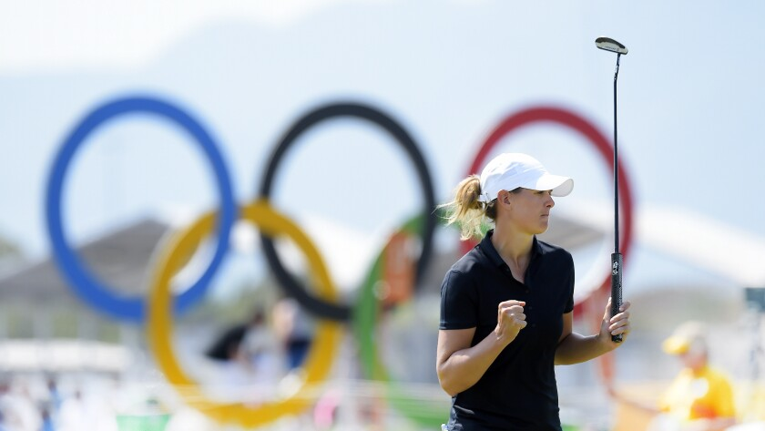 Golf – Olympics: Day 13