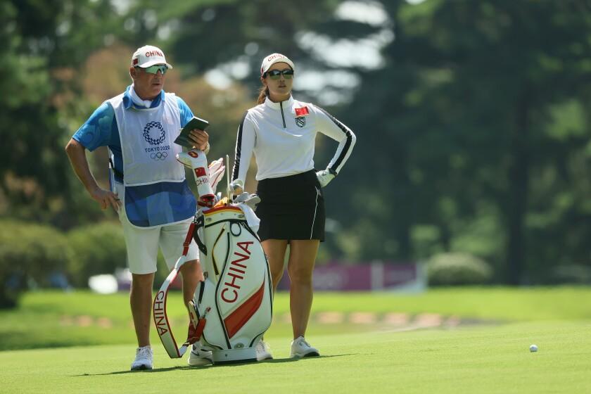 Xiyu Lin Golf - Olympics: Day 16
