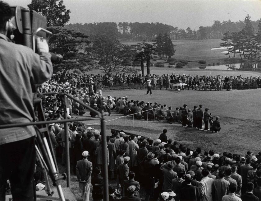 Torakichi Nakamura 1957 Canada Cup