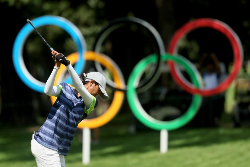 Aditi Ashok Golf - Olympics: Day 14