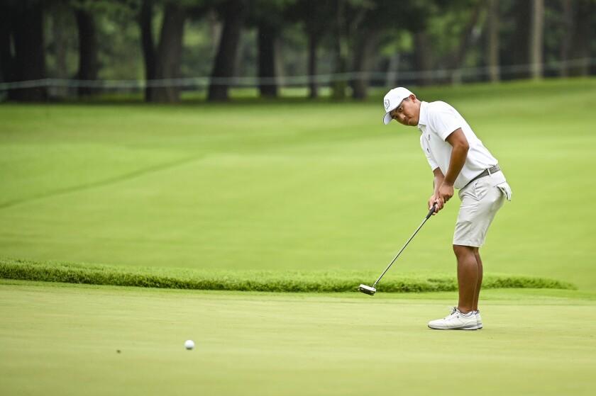 C.T. Pan Golf - Olympics: Day 4