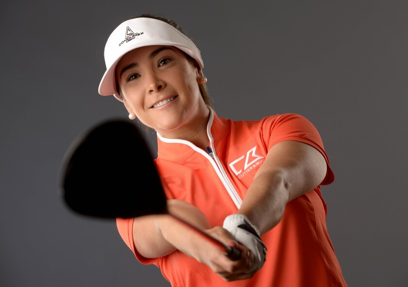 Mariajo Uribe - LPGA Player Portraits